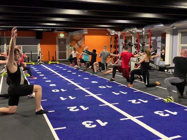 Gruppetimer tren treningssenter